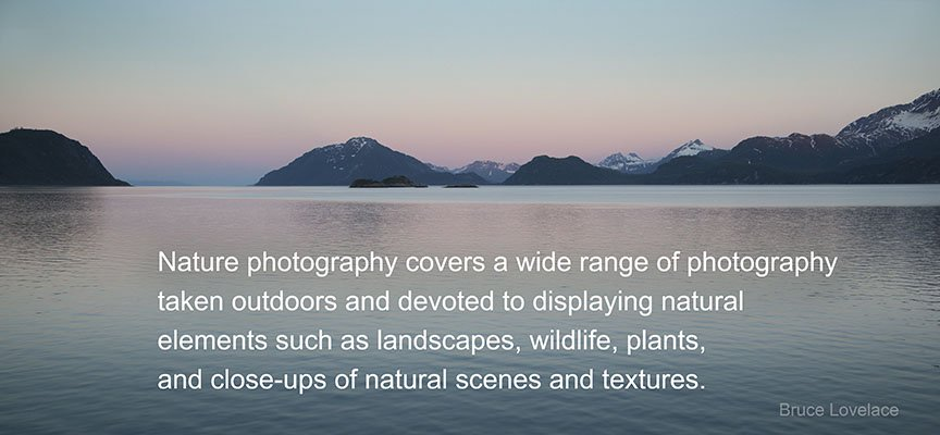Definition of nature photography