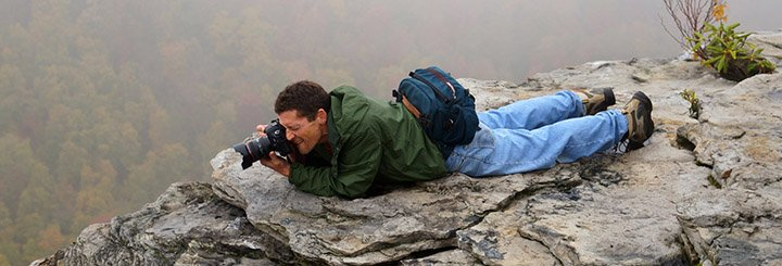 Bruce the traveling photographer