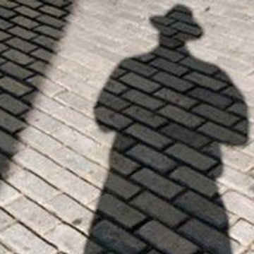 brick selfie shadow