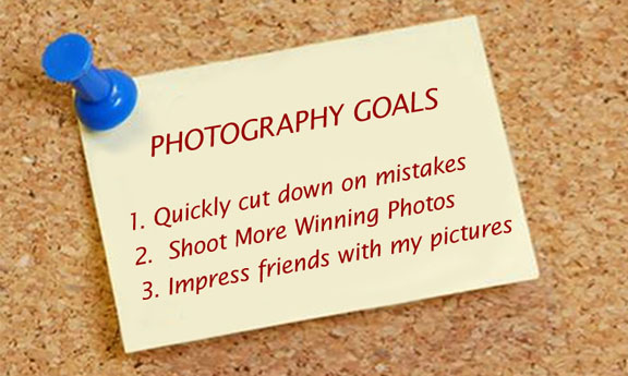 Goals from using photography tips