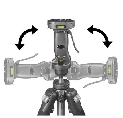 Quick adjusting tripod heads are great for making small adjustments in your framing and for going from horizontal to vertical.