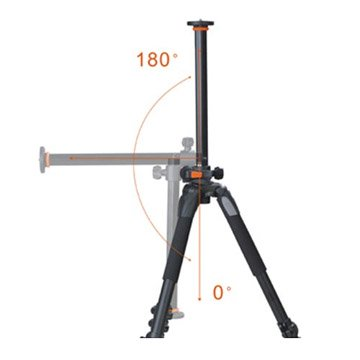 Tripod With Rotating Center Column