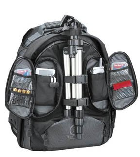 Tamrac Backpack - Look for lots of zippered pockets for storing accessories