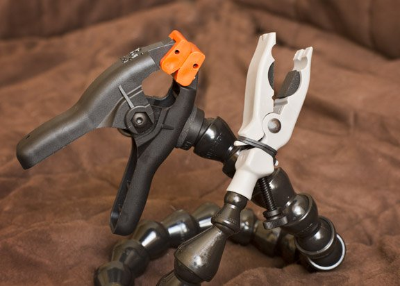 The Wimberly Plamp II has two specialized clamps, each with specialized capabilites
