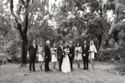 Wedding photography with wide angle lens